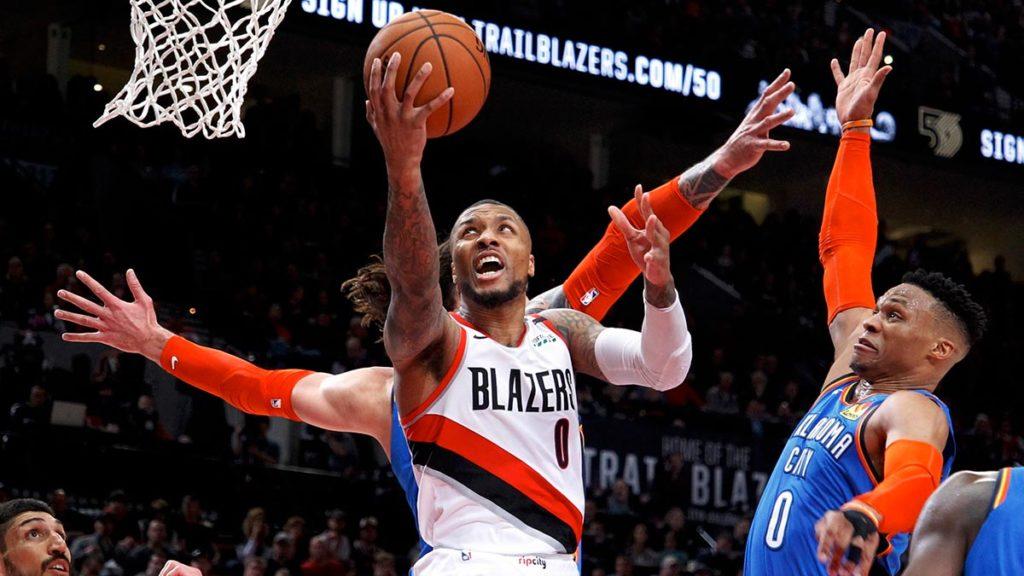 Lillard bije ceglących OKC, Rockets wysoko biją Jazz, Drummond ma dość