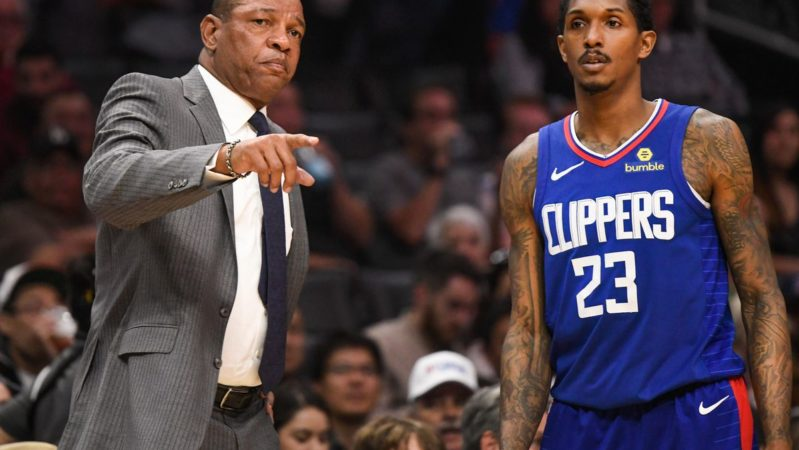 Doc Rivers Lou Williams Clippers