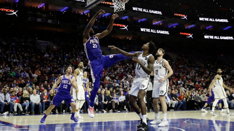 Nets Sixers Embiid
