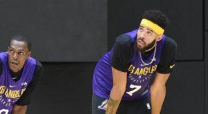 Rondo i McGee chcą zostać w Lakers