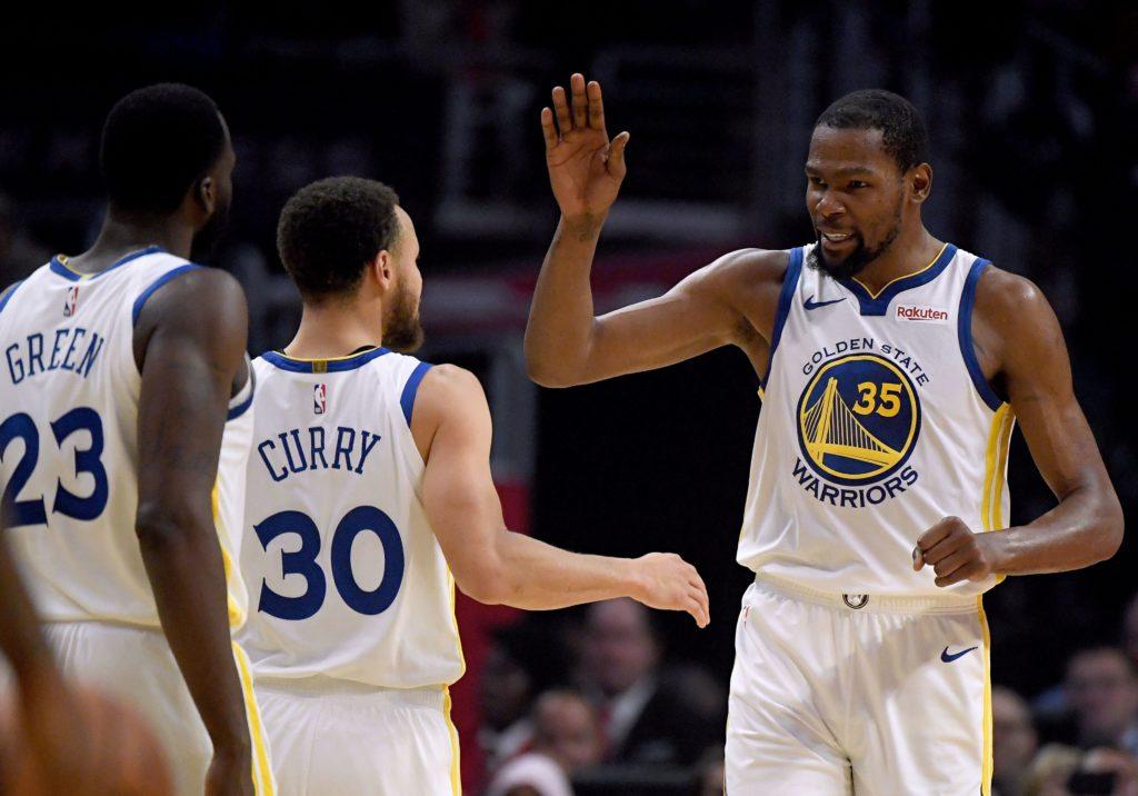 50 punktów Kevina Duranta, Warriors już w drugiej rundzie