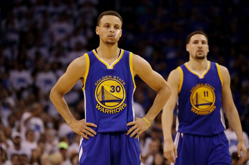 Curry i Thompson opuszczą pierwszy mecz z Rockets?