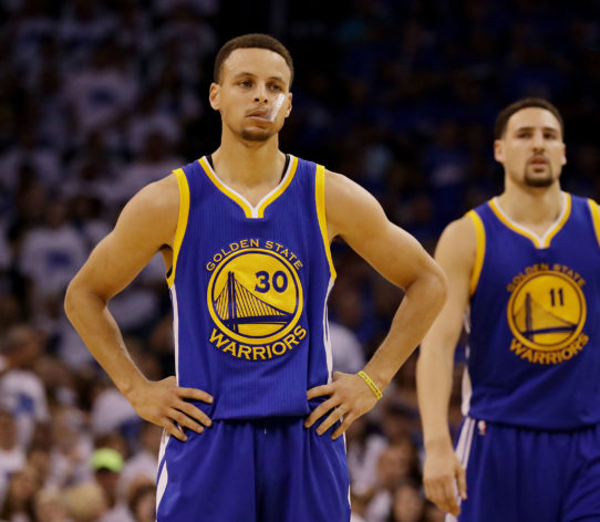 Curry Thompson Warriors