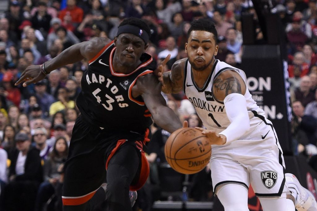 Pascal SIakam D'Angelo Russell