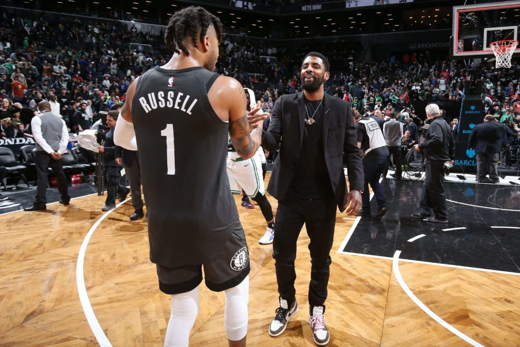 Duet Irving i Russell przyszłością Nets?
