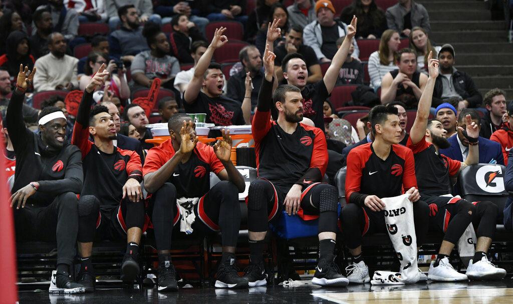 Ławka Toronto Raptors w końcu stanęła na wysokości zadania!