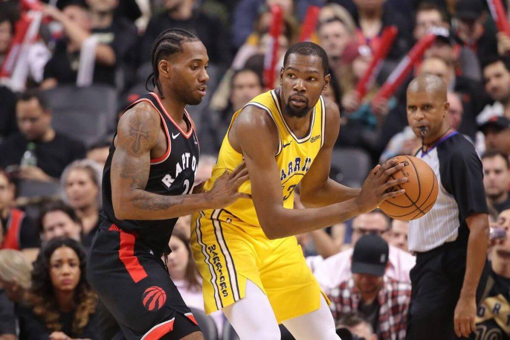 Warriors zaczną bez Duranta, Raptors wzmocnią skład na Finały