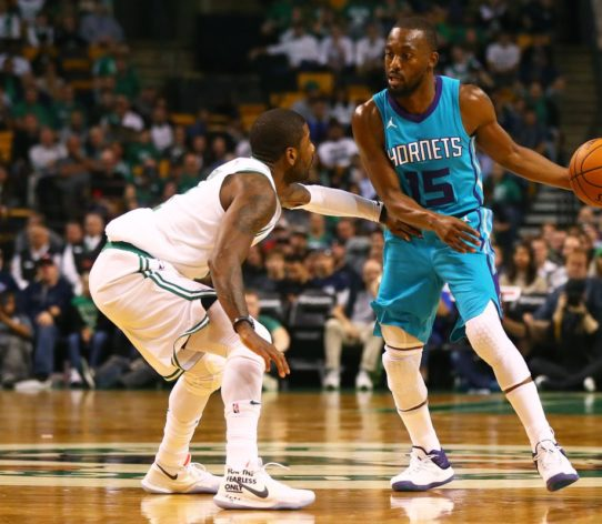 Kyrie Irving Kemba Walker Charlotte Hornets Boston Celtics