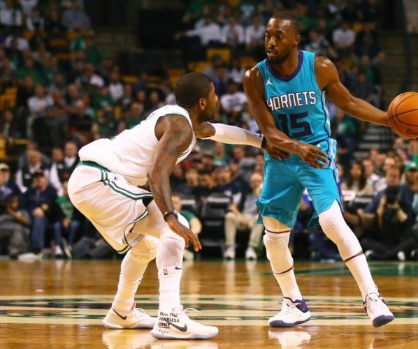 Kyrie Irving Kemba Walker Charlotte Hornets Boston Celtics