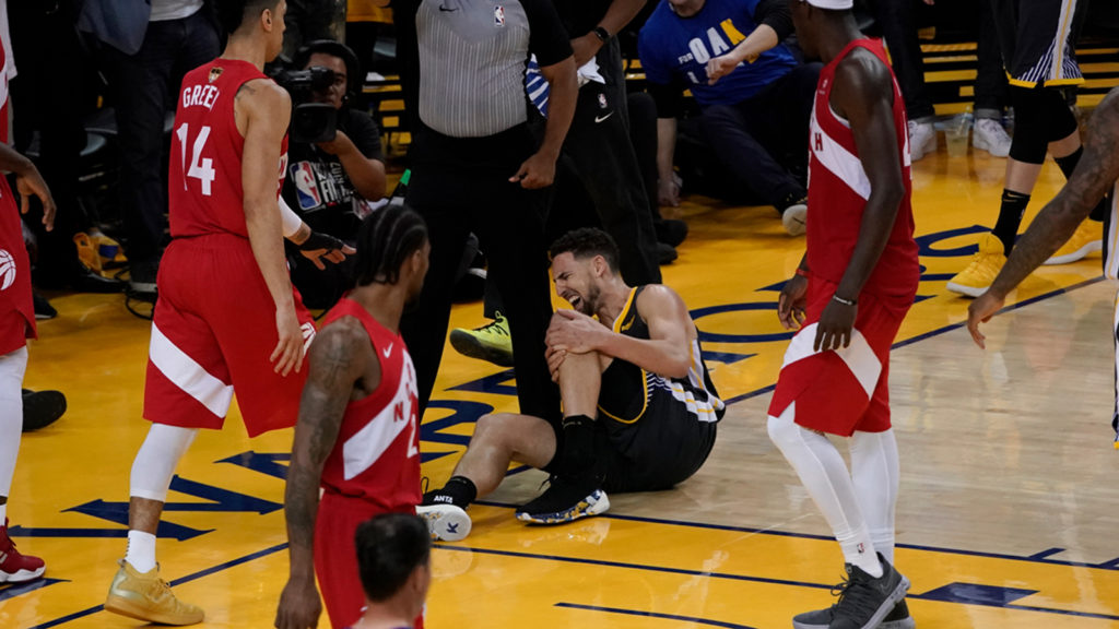 Klay Thompson zerwał ACL – Warriors czeka trudny sezon