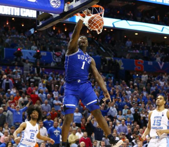 Zion Williamson Draft 2019