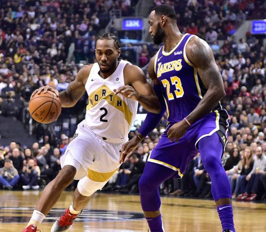 Lakers LeBron James Kawhi Leonard
