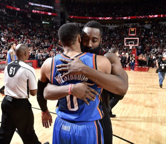 James Harden, Russell Westbrook