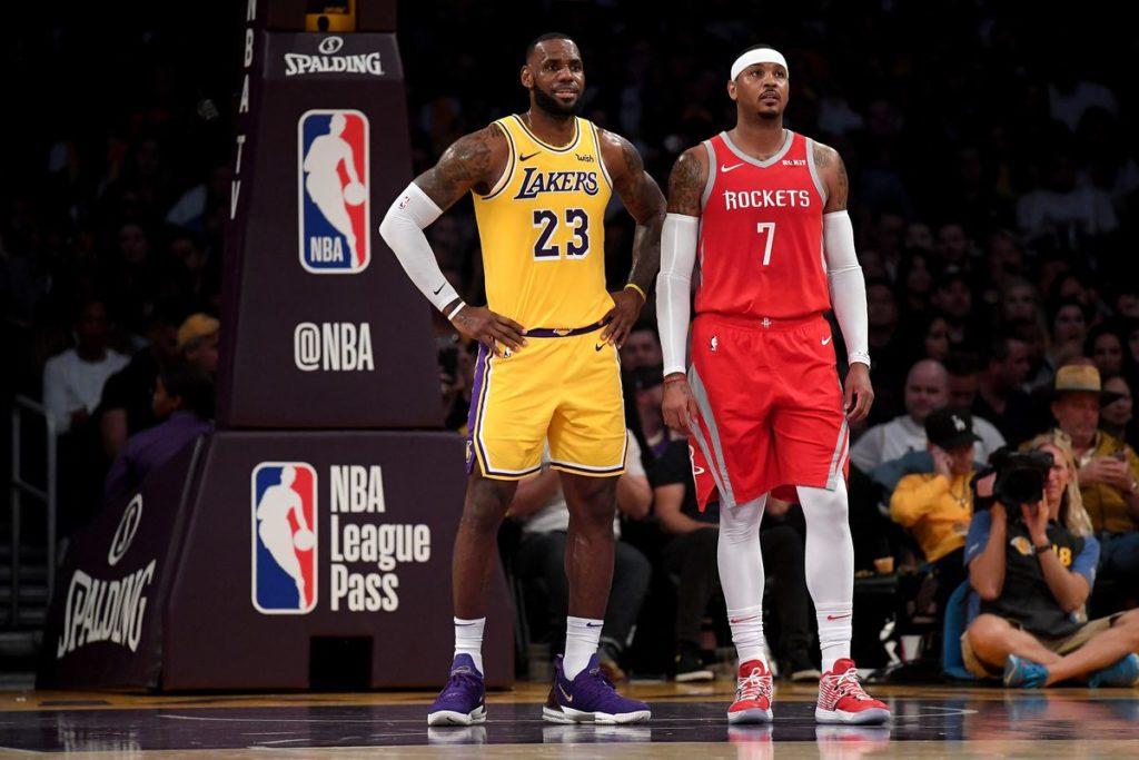 Kendrick Perkins: LeBron chciał Melo w LAL, ale zarząd odmówił