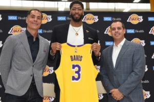 Anthony Davis będzie pierwszą opcją ataku Lakers