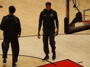 Frank Ntilikina zasili Detroit Pistons?