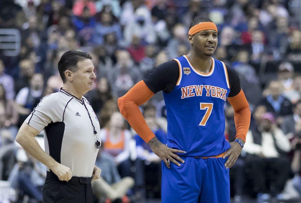 Knicks chcą Carmelo Anthony'ego  z powrotem!