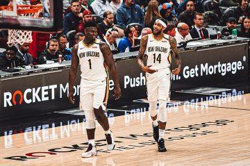 Wielki comeback Pelicans, zacięta końcówka między Clippers i Nets