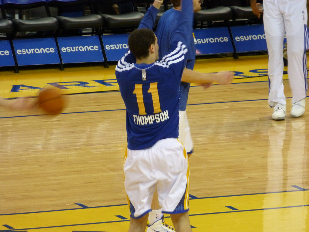 Klay Thompson gotowy do gry