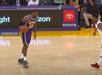 Heat Lakers LeBron Butler