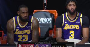 Usprawnienia Lakers przed drugim meczem z Rockets