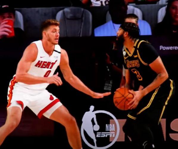 Anthony Davis Lakers Heat Finały