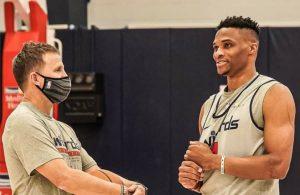 Harden nie przyszedł na trening – Wall i Westbrook dają z siebie wszystko