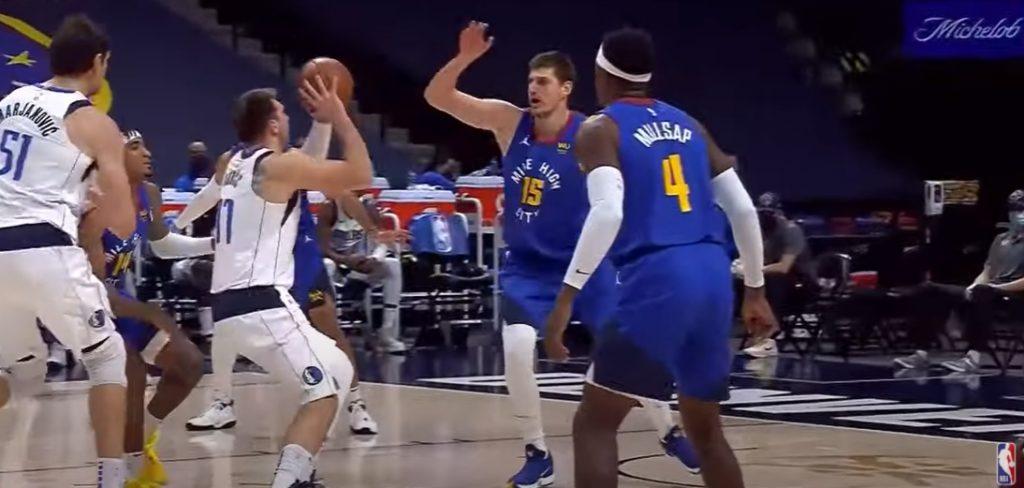 Świetny pojedynek Jokic vs Doncic, Nets wygrywają bez KD i Irvinga