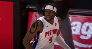 Jerami Grant błyszczy w słabych Pistons