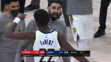 LeVert i Fournier dają zwycięstwo Pacers i Magic