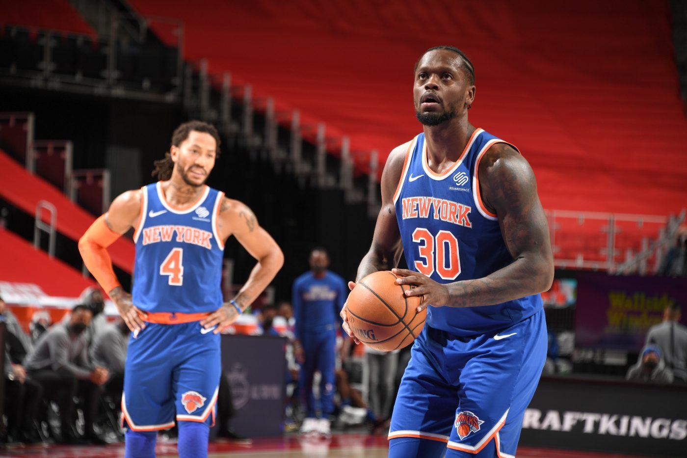 Knicks z Juliusem Randle w końcu działają! Zatrzymanie go może być trudne