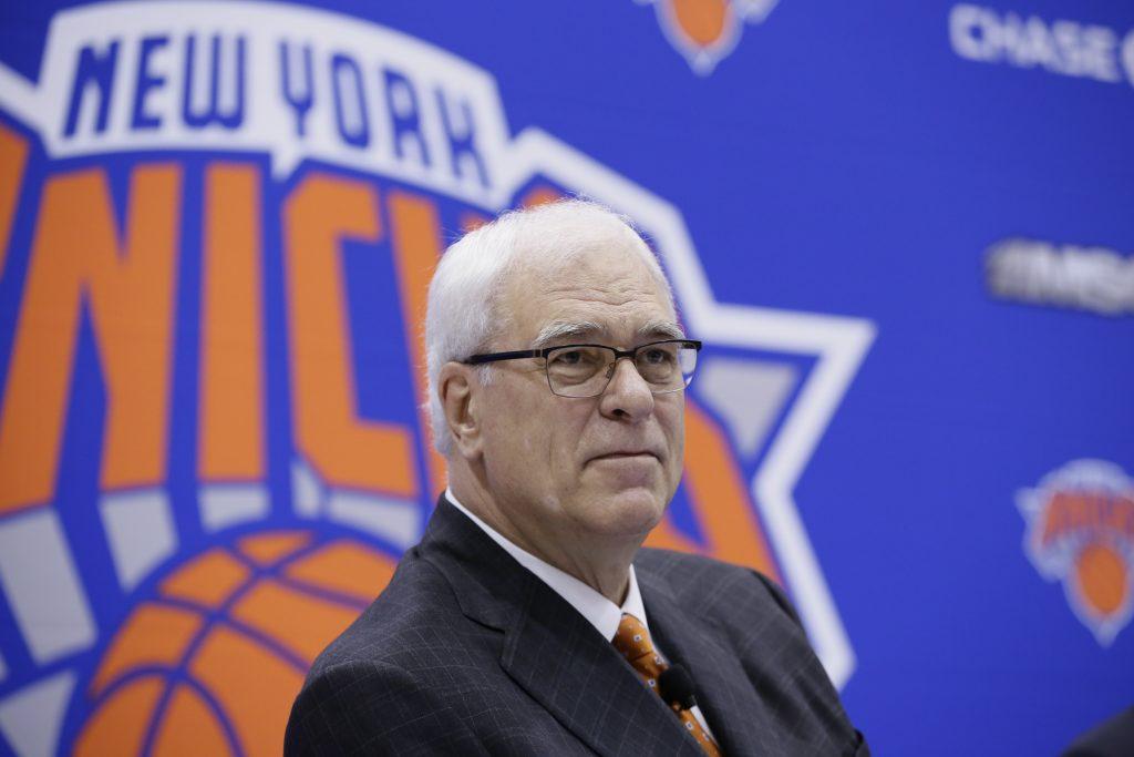 Phil Jackson podsumowuje swoją przygodę z New York Knicks