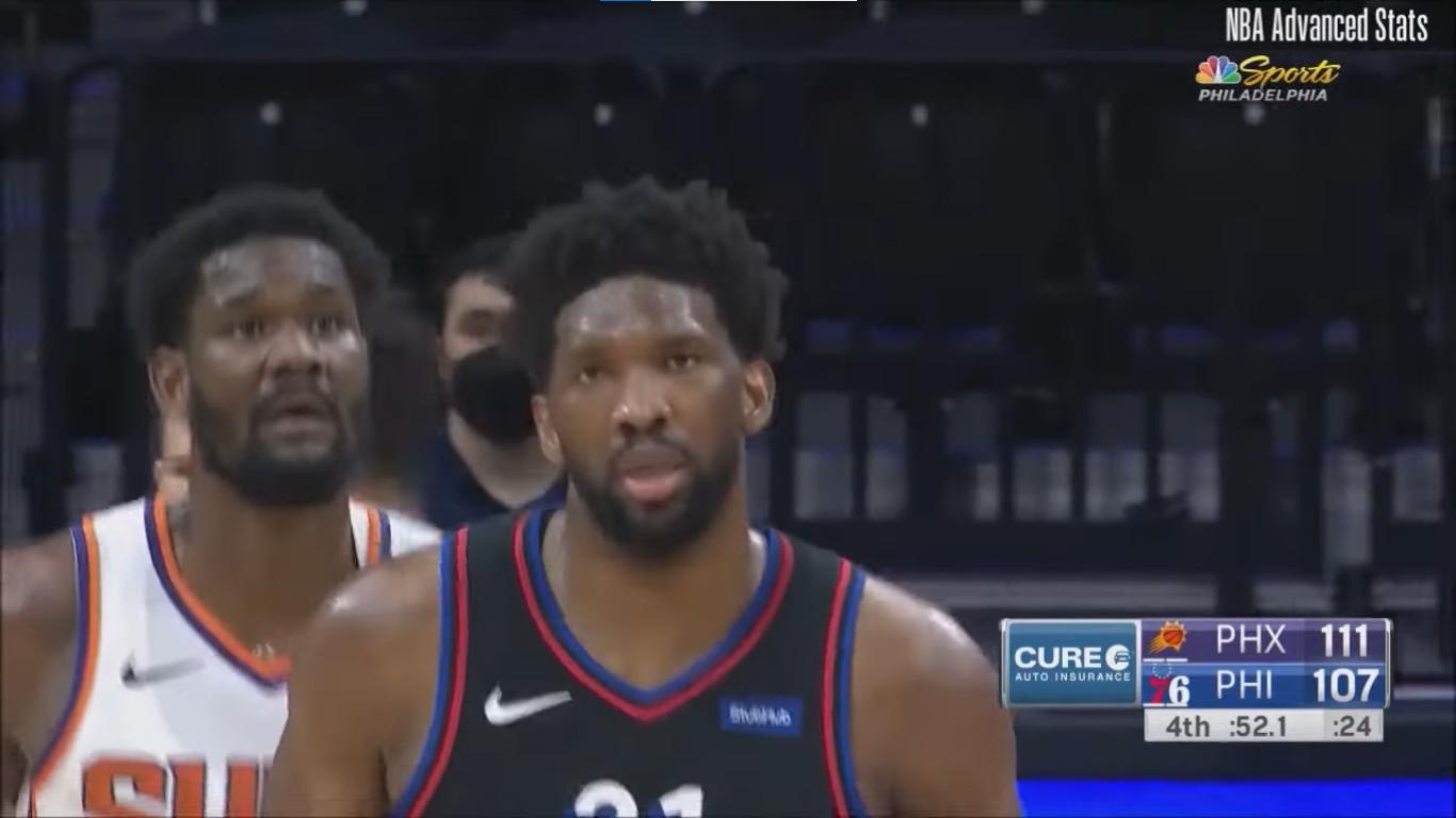 Pojedynek Joela Embiida z Chrisem Paulem, kontuzja Trae Younga, Knicks po raz ósmy