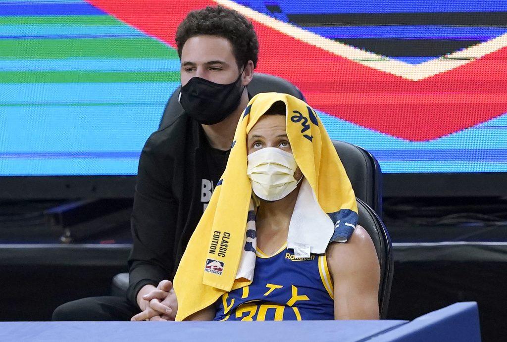 Stephen Curry zapoluje na rekord Klaya Thompsona