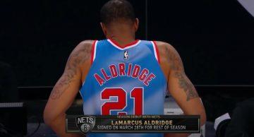 Debiut Aldridge'a w Nets, debiut Oladipo w Heat, dwie dogrywki w San Antonio
