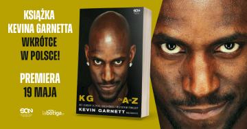 Autobiografia Kevina Garnetta już w sprzedaży!