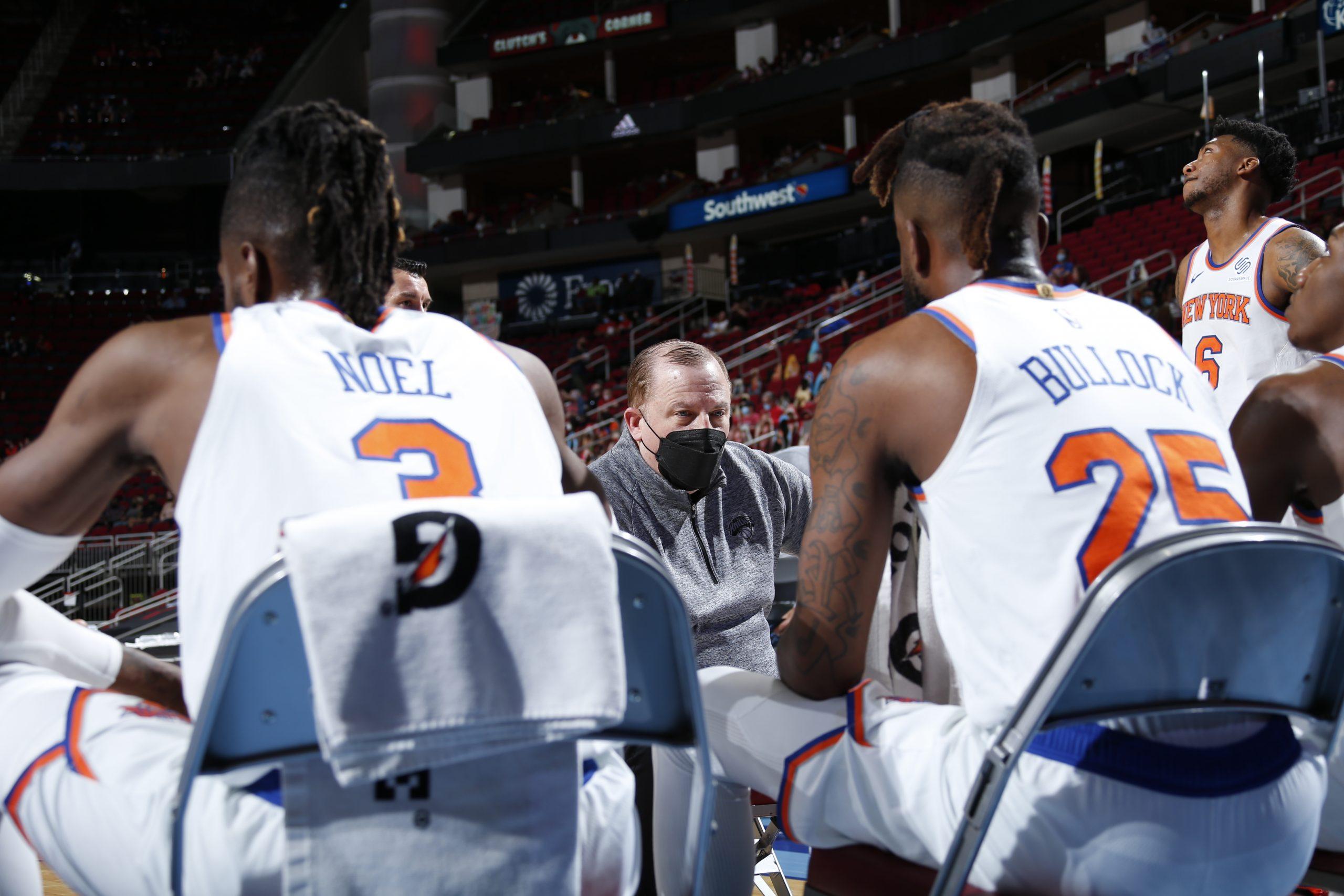 Wielki mecz Moranta, Rose prowadzi Knicks do zwycięstwa, dominacja Sixers
