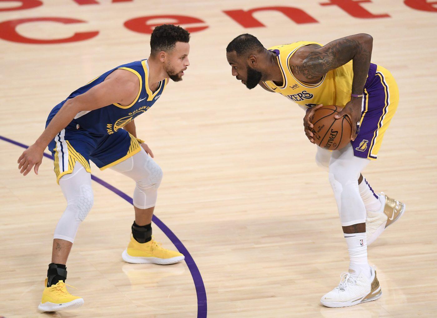 LeBron James: W mojej opinii Curry to MVP