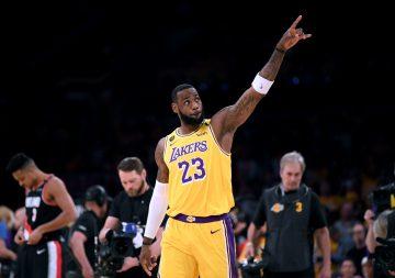 LeBron: Chcę zakończyć karierę w LA Lakers