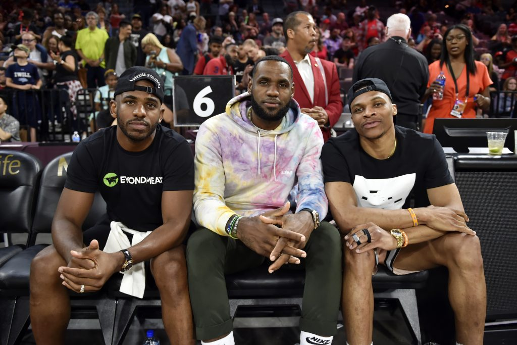 Chris Paul i Russell Westbrook celami transferowymi LA Lakers