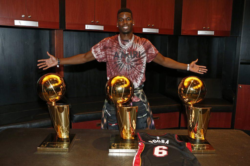 Paul Pogba trenuje z Miami Heat