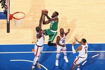 Kapitalne starcie Knicks z Celtics, kosmiczny Ja Morant, powrót z zaświatów Hornets!