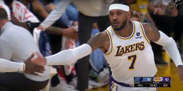 Pierwsza wygrana Lakers, eksplozja Cole'a Anthony'ego, historyczny start Hornets